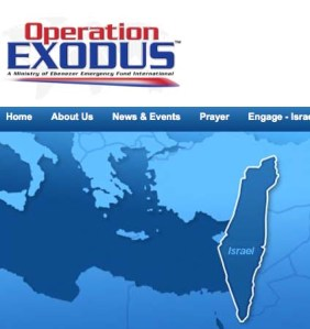 Click on the link to come to the website of Operation Exodus.